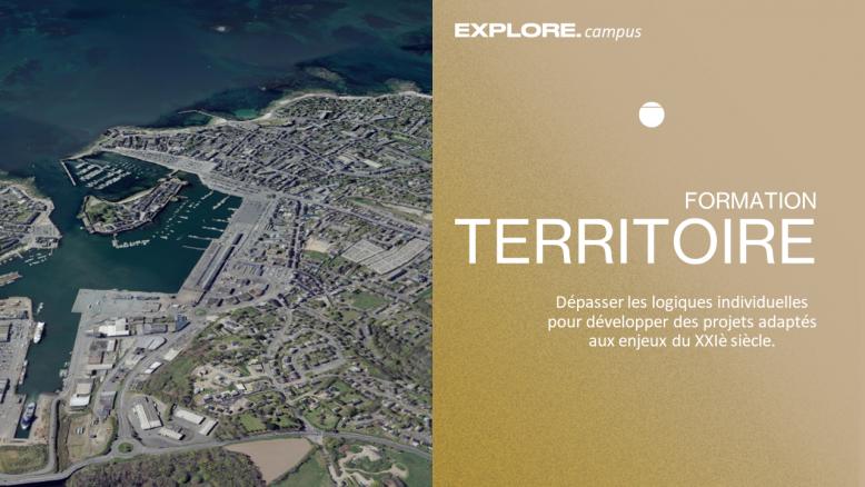 Suivre la formation Dynamiques territoriales Lien vers: https://campus.we-explore.org/?DynamiquesTerritoriales